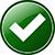 green check mark